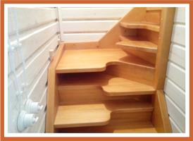 Крепление балясин и столбов лестницы - xsurfru